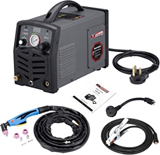APC-50, 50 Amp Plasma Cutter, 115/230V Dual Voltage Compact Metal Cutting Machine, 3/4