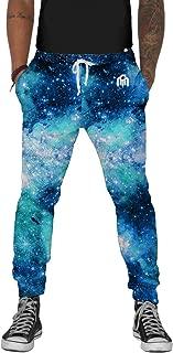 Men's Fleece Joggers - Premium Galaxy Print Sweat Pants