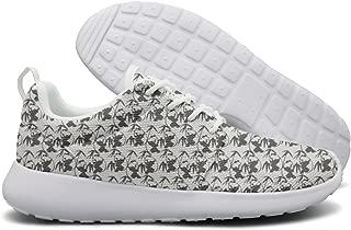 Eoyles Panda Durable Mens Guys Fashion Designer Tennis Sneakers Slip Resistant Lightweight Running Shoes