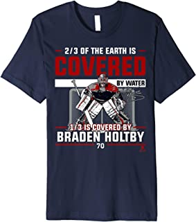 Braden Holtby Covered By T-Shirt - Apparel