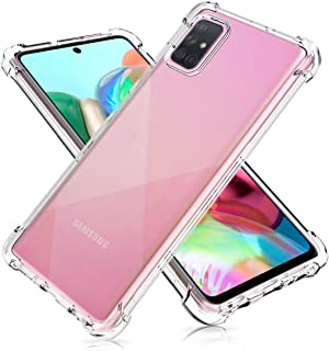 SOLDOUT™ Silicone Case Clear Hard Cover Ultra Slim Lightweight Crystal Hybrid Cover, with Flexible TPU Edge, Anti-Shock An...