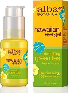 Alba Botanica Revitalizing Green Tea Hawaiian Eye Gel, 1 oz.