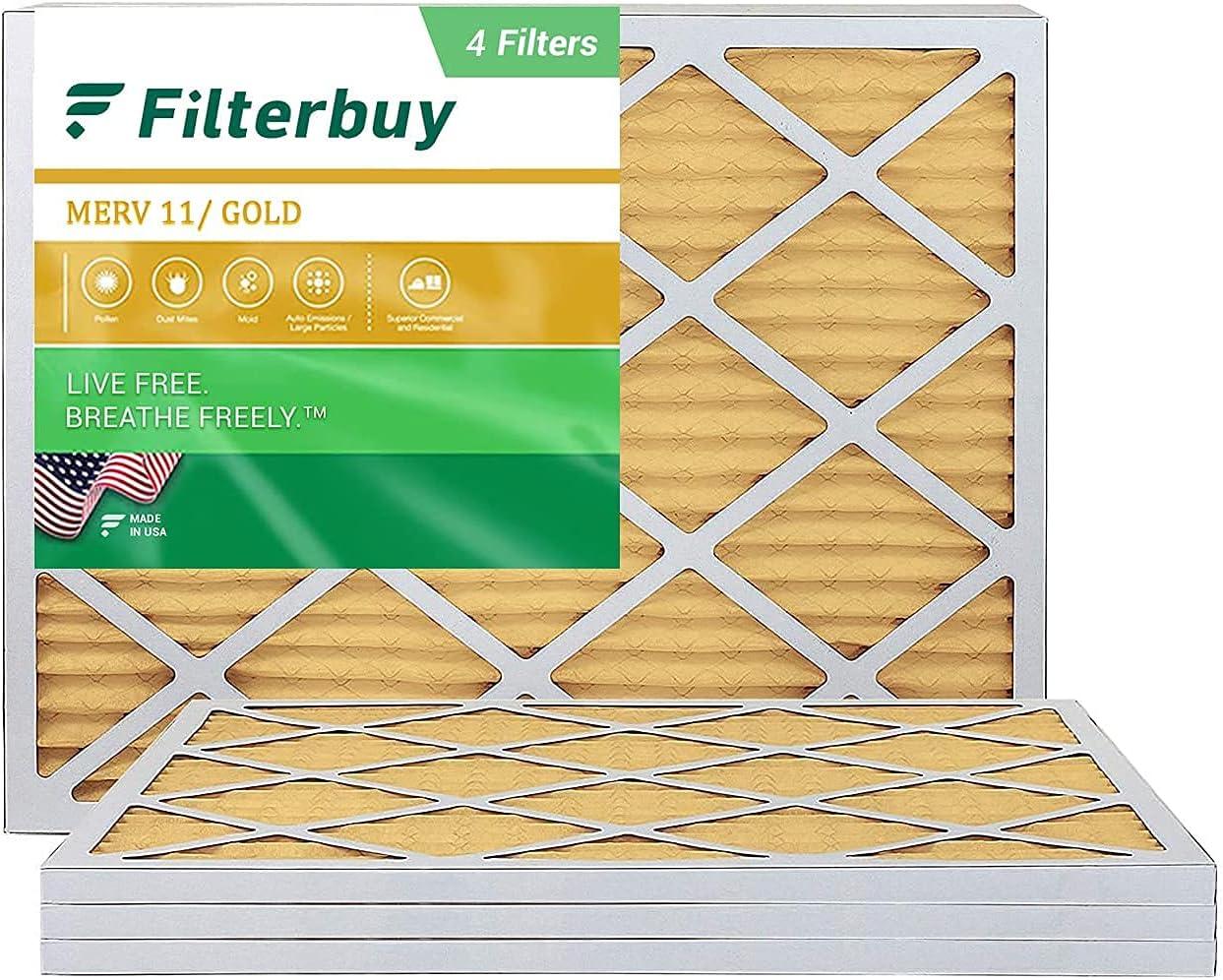 FilterBuy 18x24x1 Air Filter Seattle Mall MERV 11 Furnace Omaha Mall AC Fi HVAC Pleated