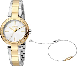 ESPRIT Women's Fashion Quartz Watch - ES1L230M0075; Multi Color