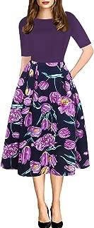 Best casual purple summer dress Reviews