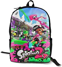 CUEVASjiamu Splatoon 2 ! Cool 3D Printing School Backpack Book Bags for Boy Girl
