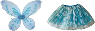 Rush Dance Queen Elsa Fairy Princess Snowflake Set – Wings & Tutu