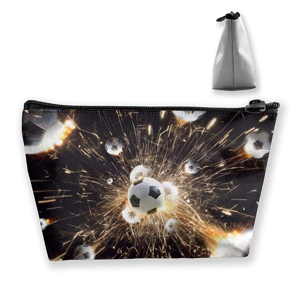 宇宙サッカー銀河 ペンケース文房具バッグ大容量ペンケース化粧品袋収納袋男の子と女の子多機能浴室シャワーバッグ旅行ポータブルストレージバッグ