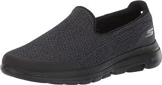 حذاء جو ووك 5 للرجال من سكيتشرز، رمادي (داكن)، المقاس 8 UK (42.5 EU), (اسود), 45 EU