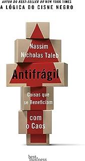 Capa do livro Antifrágil: Coisas que se beneficiam com o caos