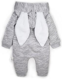 Minilove Baby Dinosaur Unicorn Rabbit Hoodie Romper