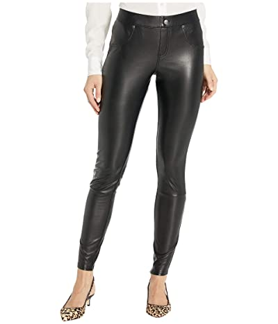 HUE Leatherette Leggings (Black) Women