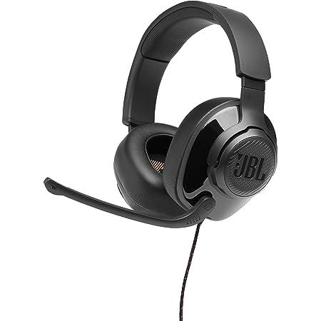 JBL Quantum 200 Cuffie Gaming Over-Ear con Filo, Headset da gioco con Microfono, compatibilità Multipiattaforma PC e Console, Colore Nero