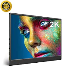 2K Monitor, UPERFECT Computer Display 13.3