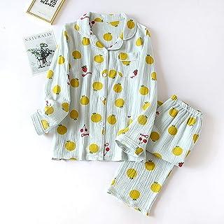 Pijamas Ropa De Dormir De Algodón con Estampado De Corazón Pijamas De Mujer Pijamas Finos para Dormir Pijamas Sueltos Suaves para Mujer Conjunto De Pijamas De M