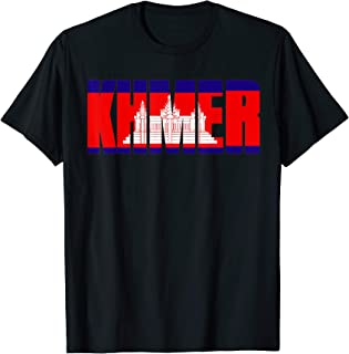 Khmer Cambodian Flag T-Shirt