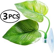 GUCTOP Betta Hammock Leaf with Suction Cup, Fish Habitat Plastic Aquarium Plant