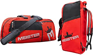 Meister Vented Convertible Duffel/Backpack Gym Bag - Ideal Carry-On
