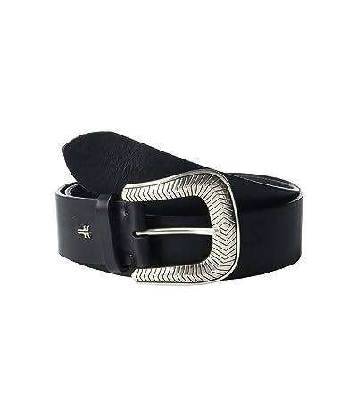 Frye 40 mm Western Belt (Black) Women
