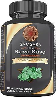 Samsara Herbs Natural Kava Kava Extract - (120 Capsules)