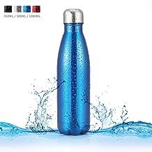 Botella de Agua de Acero Inoxidable Portátil Botella