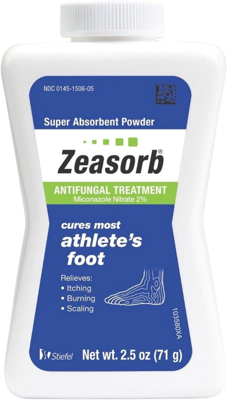 Zeasorb-AF specialty shop Antifungal Powder 2.50 Pack San Antonio Mall 8 of oz