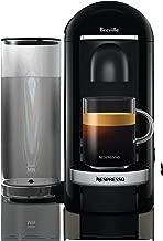Breville Nespresso Vertuo Plus Coffee Machine, Black Deluxe, BNV420BLK