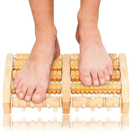 Facibom Rouleau de masseur de pieds en bois pour ballet ligament /étirable et am/éliorateur de vo/ûte plantaire danse spin