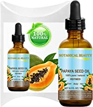 Botanical Beauty PAPAYA SEED OIL. 100% Pure / Natural / Undiluted /Refined Cold Pressed Carrier Oil. 0.5 Fl.oz.- 15 ml. For Skin, Hair And Lip Care.