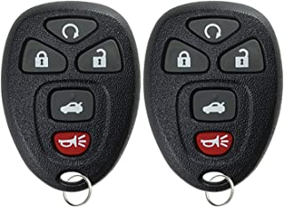 KeylessOption Keyless Entry Remote Start Control Car Key Fob Replacement for 22733524 (Pack of 2)