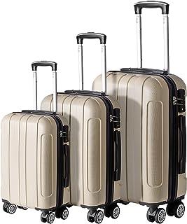 FOCHIER 3 Piece Hardshell Luggage Set, Hardside Lightweight Fashion PC+ABS Suitcase with Spinner Wheels & TSA Lock (20/24/...