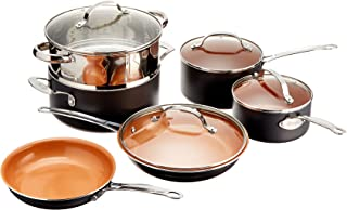 Best pure copper cookware set Reviews