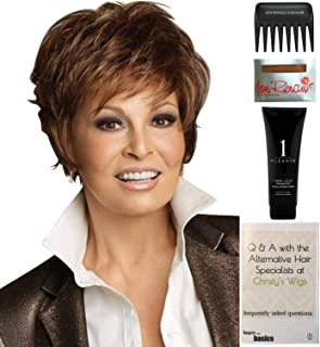 Bundle - 5 items: Sparkle by Raquel Welch Wig, Christy's Wigs Q & A Booklet, Wig Shampoo, Wig Cap & Wide Tooth Comb (Color Selected: SS8_29)