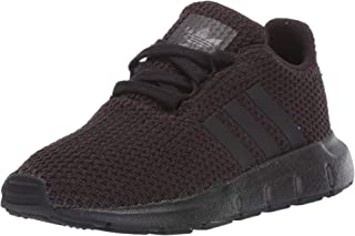 adidas Originals Unisex Swift Running Shoe, Black, 2 M US Little Kid