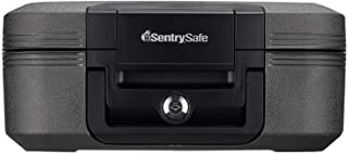 Sentry Safe CHW20101 7.8L Medium Keyed Fire Water Chest