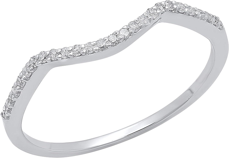 Dazzlingrock 40% OFF Cheap Sale Collection 0.12 Sales Carat ctw Round Lad White Diamond