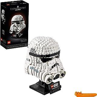 LEGO Star Wars Stormtrooper Helmet 75276 Building Kit,...