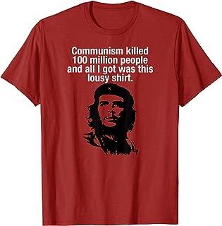 Official Anti-Communism Che Guevara Lousy Communist T-Shirt