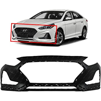 2018-2019 Hyundai Sonata Front Driver Side Bumper Cover Retainer; Made Of Pp Plastic And Glass Fiber Partslink HY1042129C