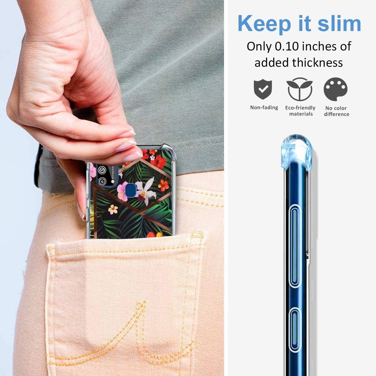biteri H/ülle f/ür Samsung Galaxy M31 Handyh/ülle Kompatibel mit Samsung M31 H/ülle Transparent Anti-Gelb D/ünn Silikon Tasche Durchsichtige Schutzh/ülle M31 Case Crystal Clear