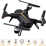 FPV Drone with Camera 1080P HD with Headless Mode Altitude Hold 3D Flip One Key Take...
