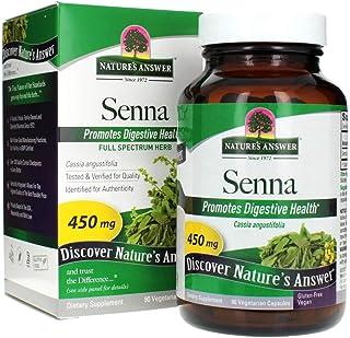 Nature's Answer Senna Leaf | Dietary Supplement | Promotes Digestive Health | Vegan, Gluten-Free & Kosher Certified | Vege...