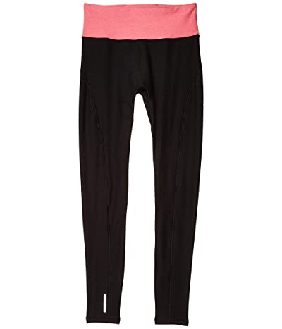 PUMA Studio Luxe Eclipse 7/8 Tights (Puma Black Heather/Bubblegum Heather) Women
