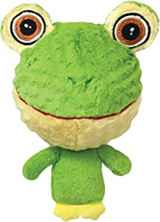 Multipet 43233-1 Knobby Noggins Frog Dog Toy