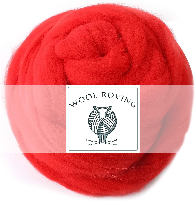 5.29oz Wool Roving Yarn Fiber Soft Top Sale SALE% OFF Max 52% OFF Felting