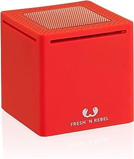 Fresh 'n Rebel RockBox 1 Portable Bluetooth Speaker, Red