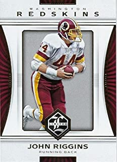 Football NFL 2017 Panini Limited #88 John Riggins #88 NM+ Redskins