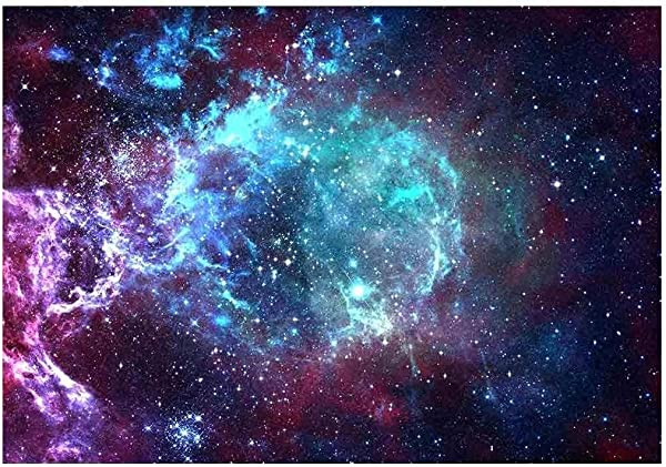 Wall26 Star Field In Space A Nebulae And A Gas Congestion Removable Wall Mural Self Adhesive Large Wallpaper 66x96 Inches