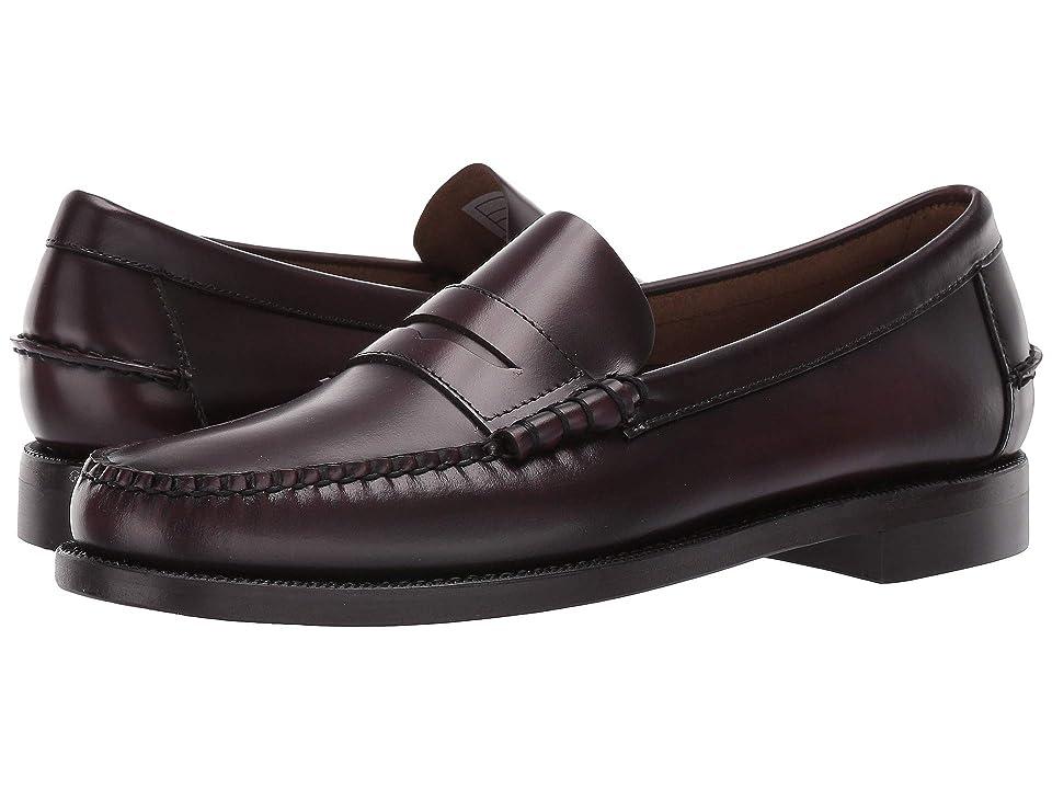 Sebago Classic Dan (Brown/Burgundy) Men's Shoes