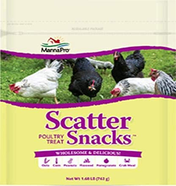 Manna Pro Scatter Snacks, 1.68 lb